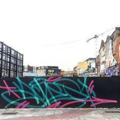 "463 Me gusta, 17 comentarios - @achesdub en Instagram: ""Closer shot #graffiti"""
