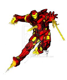 Iron Man Commission by SleepWalker-7thLotus