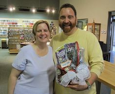 Yay! Mitch won a prize on the 2013 Bead Shop Hop!