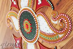 Kundan Rangoli, Bollywood inspired Acrylic floor art Indian Wedding by Nirman