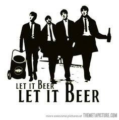 Let it beer #beatles
