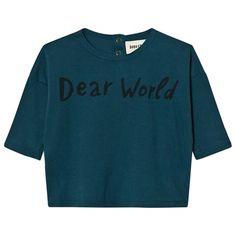 Bobo Choses-Dear World Baby T-shirt | Fri frakt över 499kr!
