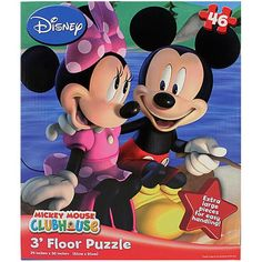 Mickey Mouse Clubhouse Floor Puzzle [Camping - 3 Foot]$16.99