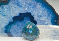 """Northern Lights """"Rippling-Water"""" Pendant  $325 at TheHeadyHive.com"""