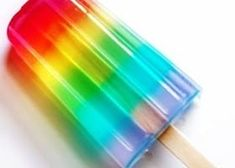 It might be ice-pops turned into a popsicle. Rainbow Food, Love Rainbow, Taste The Rainbow, Over The Rainbow, Rainbow Colors, Rainbow Things, Rainbow Stuff, Rainbow Cookie, Rainbow Ice Cream