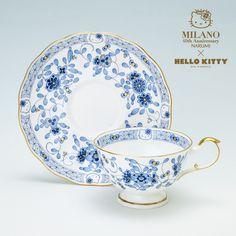 Narumi Milan Hello Kitty A Tea Porcelain Bowl Plate One Set Sanrio JP | eBay