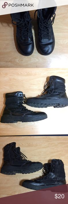 Response Gear Tactical Footwear SWAT Boots These boots are in great condition. They've only been worn a handful of times. Waterproofed and super comfy. Tread on soles looks brand new. RG Shoes Boots