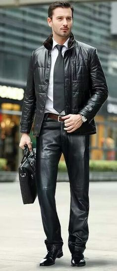 .Leather Style