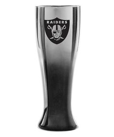 Oakland Raiders Ombré Pilsner Gl By Duck House