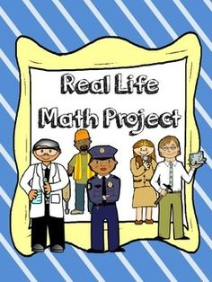 Great real-life math project where students get a job, pay taxes, buy a house and car, go grocery shopping and set up a monthly budget.  The download includes a 5 day lesson plan and all the materials needed for the project.