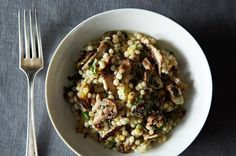 Truffled Israeli Cous Cous with Meyer Lemon and Basil, a recipe on Food52