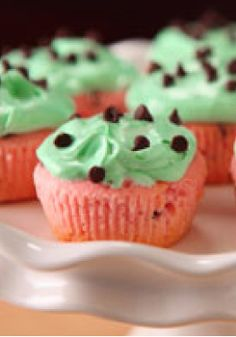 Watermelon KOOL-AID Cupcakes – Sure, these Watermelon KOOL-AID Cupcakes are as cute as can be and fun to look at on the dessert table. But trust us: They're even better to eat!