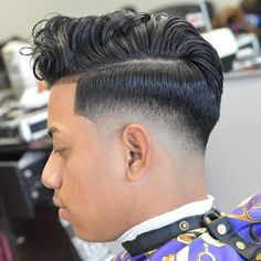 Haircut by zeke_the_barber http://ift.tt/1SZpOut #menshair #menshairstyles #menshaircuts #hairstylesformen #coolhaircuts #coolhairstyles #haircuts #hairstyles #barbers