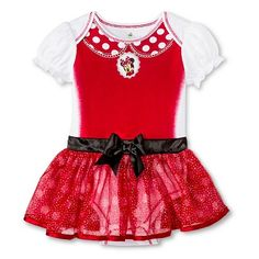 Disney� Minnie Mouse Newborn Girls� Bodysuit