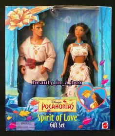 Pocahontas and John Smith Doll Disney Spirit of Love Gift Set Barbie Very Rare | the Barbie Collectionary