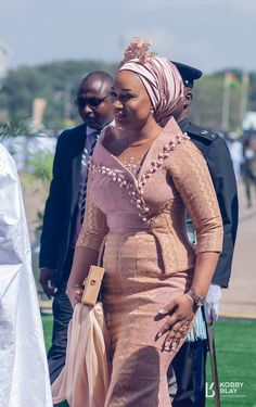 Ghana's VP's Wife Samira Bawumia at the 61st Independence Day