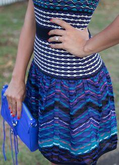 #MMissoni Fall 2103 Collection   Patchwork Optical Dress   @Julia Engel