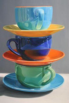 Daryl Gortner: oil on canvas