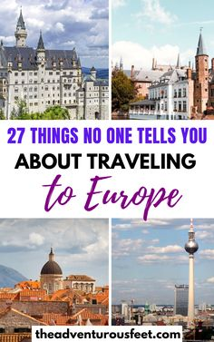 Are you planning a trip to Europe and not sure what to do or not to do? Here are the biggest mistakes to avoid while traveling in Europe. Backpacking Europe, Europe Travel Guide, Europe Europe, Travel Guides, Travel Destinations, Travel Diys, Travelling Europe, Traveling Tips, Outfits Winter