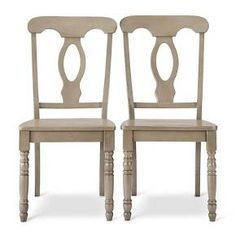 Napoleon Wood Dining Chair (Set of 2) : Target