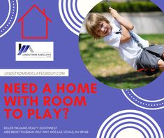 Need a home with room to play? Contact and Search with us today. www.LindstromRadcliffeGroup.com #livinlrg #LindstromRadcliffeGroup #realtor #KW
