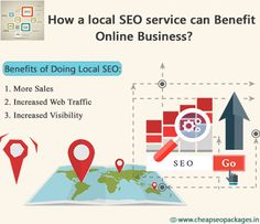 How a #local SEO service can #Benefit Online Business? #Google always love the local results. In the local searches the Google automatically returns the results based on the user's location. Practically any business can take advantage of local SEO's benefits. Here are some major benefits of doing local SEO. http://cheapseopackages.in/