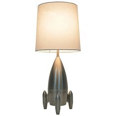 Rocket Table Lamp from Target -  perfect lamp in your big boys room!