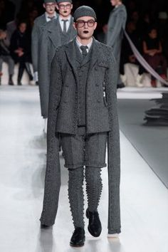 Thom Browne showed hisFall/Winter 2017 collectionduring Paris Fashion Week.