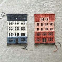 Måske en ide til en Bodum kaffevarmer - sæt en skorsten på, så har du stropp. Knit World, Knitting Patterns, Crochet Patterns, Knit Art, House Quilts, Knitting Accessories, Knitted Blankets, Free Knitting, Knitting Projects