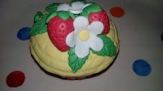91% de Açúcar: Até agora o mais BONITO Cupcake que fiz...A decora...