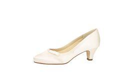 Brautschuh Josephine aus Satin von Elsa Coloured Shoes.