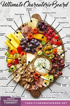 Charcuterie Recipes, Charcuterie Platter, Charcuterie And Cheese Board, Cheese Boards, Charcuterie Display, Meat And Cheese Tray, Meat Trays, Appetizers For Party, Appetizer Recipes