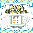 There are three data graphs included in this packet.  Each activity includes:  Data Chart  Graph for students to fill out  Questioning worksheet    These...