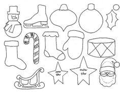 новогодние игрушки из фетра - Поиск в Google