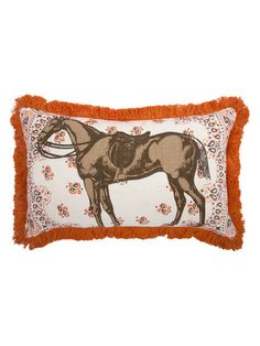Horse Pillow by thomaspaul at Gilt