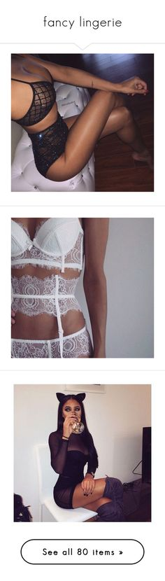 """fancy lingerie"" by eniola29 ❤ liked on Polyvore featuring pictures, intimates, bras, lace lingerie, push up bra, lace triangle bra, sexy lace lingerie, sexy lingerie, summer lingerie and lace push up bra"