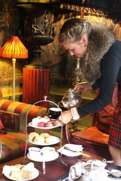 Afternoon Tea in Prestonfield House Edinburgh