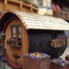 A barrel for a home - St Anton, Austria