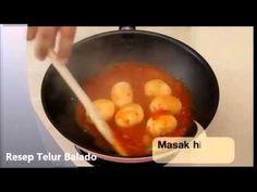 Resep Masakan Telur Balado NCC Sambal Rujak Keluarga Nugraha Enak Khas Padang - YouTube