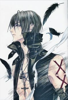 "Booklet art ... betrayal knows my name, luka ""zess"" crosszeria, uraboku, uragiri, Odagiri Hotaru, booklet"