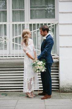 A Vintage Gown for a Stylish Low-Key and Relaxed London Pub Wedding | Love My Dress® UK Wedding Blog