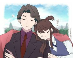 Andrew & Akko  I ship it!
