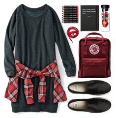 """""""Untitled #94"""" by roxeyturner ❤ liked on Polyvore featuring Fjällräven, Bobbi Brown Cosmetics and Urbanears"""