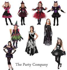 Girls teen #toddler halloween fancy dress #costumes dress up - #zombie witch devi,  View more on the LINK: http://www.zeppy.io/product/gb/2/131641063846/