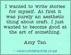 Quotable - Amy Tan