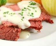 Recipe Corned Beef by Wise Woman Ways, learn to make this recipe easily in your kitchen machine and discover other Thermomix recipes in Main dishes - meat. Corned Beef Brisket, Corned Beef Recipes, Meat Recipes, Crockpot Recipes, Dinner Recipes, Savoury Recipes, Yummy Recipes, Dinner Ideas, Guinness Recipes