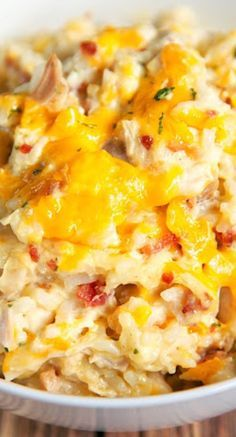 Cracked Out Chicken and Rice Bake