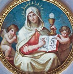 Nuestra Señora del Santísimo Sacramento imágenes - Buscar con Google- NOSSA SENHORA DO SANTÍSSIMO SACRAMENTO