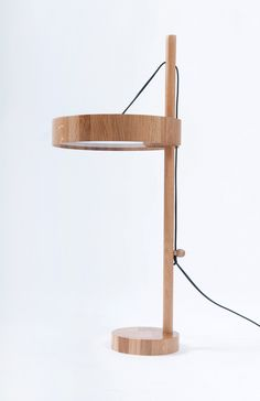 minimal table lamp designed by Roman Shpelyk