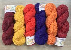HiKoo® CoBaSi Plus 13.25 +1.25ea to Ship & Free CoBaSi Patterns Shown - 177yds 100g Cotton Bamboo Silk Nylon Worsted Weight Yarn MSRP 15.95